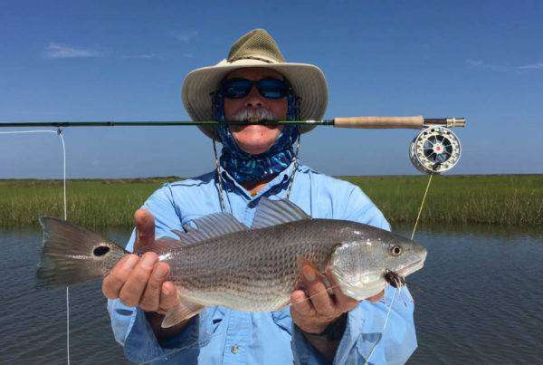 A picture of Marsh Fishing For Redfish with Legends of the Lower Marsh
